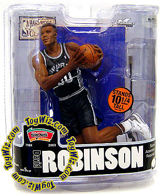 McFarlane NBA Legends 3 Figure David Robinson Spurs on Rummage
