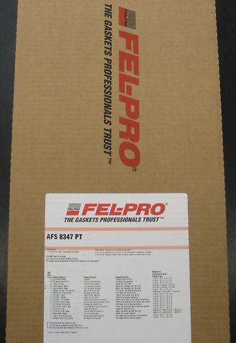 FELPRO FULL GASKET SET KIT FORD 302-351 CLEVELAND 2V & 4V - FEAFS8347PT