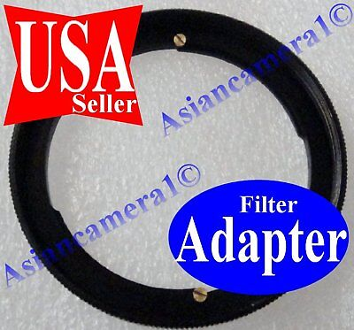 For Canon Powershot Sx40 Hs 67mm Filter Metal Adapter Ring Fast Ship Usa