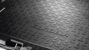 TOYOTA COROLLA CARGO MAT ZRE152 HATCH 2007-2012 BOOTLINER NEW GENUINE ACCESSORY