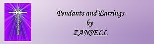 Pendants And Earrings By ZANSELL