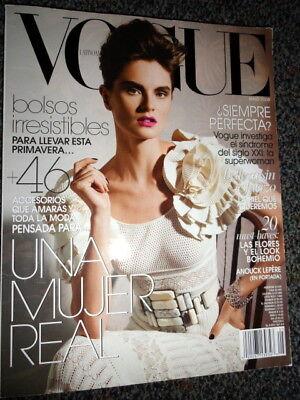 Vogue 5/08 Casey Affleck Anouck Lepere Nelly Furtado Eva Herzigova Padma Lakshmi