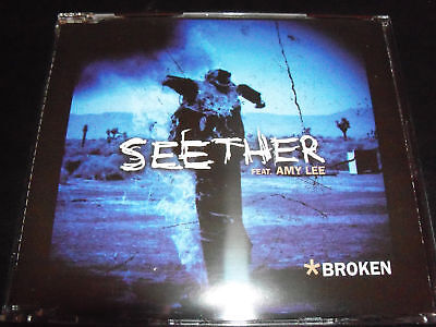 Seether Broken Feat Amy Lee From Evanescence Australian Cd Single   Like New