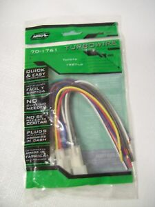 metra 1987 up toyota turbowire wiring harness 70 1761