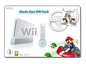 New-Nintendo-Wii-Bundle-Mario-Kart-Pack-White-Console