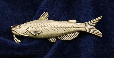 Empire Pewter Catfish Fish Pin