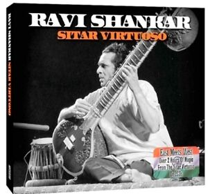RAVI SHANKAR SITAR VIRTUOSO - MINT 2CD SET