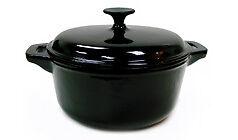 Enamel-Cast-Iron-Black-Dutch-Oven-4-1-4-Qt-Close-Out