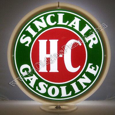 SINCLAIR H-C GASOLINE & OIL GAS PUMP GLOBE Free Shipping