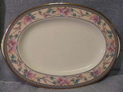 Noritake Embassy Suite Oval Serving  Platter 14 1 2