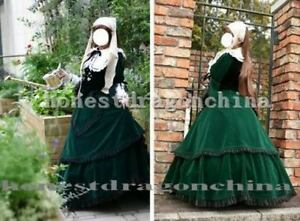 Rosen-Rozen-maiden-Gothic-Lolita-Velvet-cosplay-costume