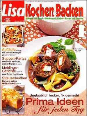 Lisa Backen und Kochen für 10,00 Euro