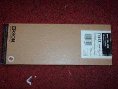 GENUINE EPSON T6148 MATTE BLACK INK STYLUS PRO 4400 4450 4800 4880 220ml SEALED