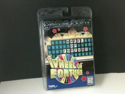 Wheel Of Fortune Game For Tiger Game.com Sealed