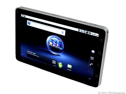ViewSonic ViewPad 7 512MB, Wi-Fi + 3G, 7in - Black Tablet