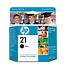 HP 21 (C9351AN#140) Black Ink Cartridge