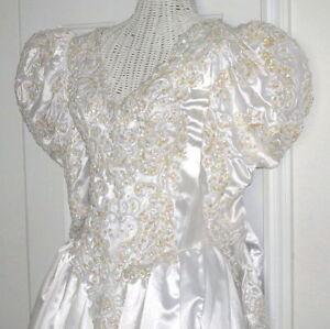 Vintage demetrios wedding dress renaissance bridal gown ebay for Ebay vintage wedding dress