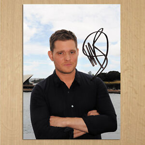 MICHAEL BUBLE Signed photo....LOOK...BIG...8