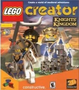 Lego-Creator-KNIGHTS-KINGDOM-Imagination-Classic-for-Windows-PC-Game-CDrom-NEW