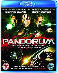 Pandorum  DVD Bluray Dennis Quaid Ben Foster Cam Gigandet Antje Traue Cung - <span itemprop='availableAtOrFrom'>Gravesend, Kent, United Kingdom</span> - Pandorum  DVD Bluray Dennis Quaid Ben Foster Cam Gigandet Antje Traue Cung - Gravesend, Kent, United Kingdom