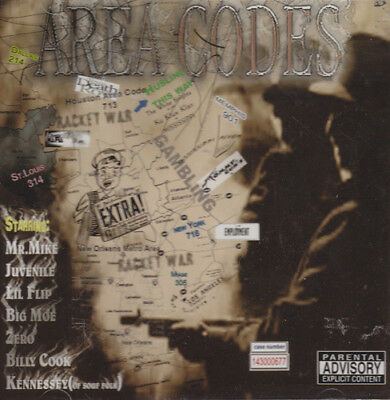 Various Artists - Area Codes - Cd, 2003 - / Crack
