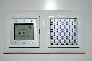 berker radio touch neu 28808989 s1 mit abdeckrahmen. Black Bedroom Furniture Sets. Home Design Ideas