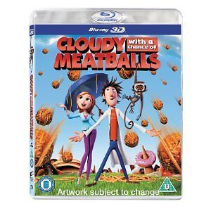 BLU-RAY:CLOUDY WITH A CHANCE OF MEATBALLS (Tru 3D)