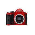Pentax K-r 12.4 MP Digital SLR Camera - Red (Body Only)