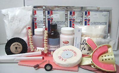 Complete Quality Denture Repair Kit With 28 Denture Teeth