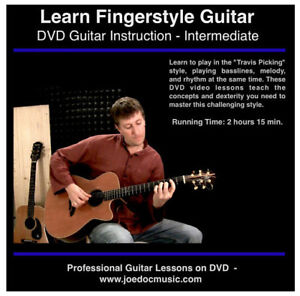 Learn To Play Fingerstyle Guitar Lessons great on Martin d28 d35 d15 d18 etc.