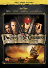 Pirates of the Caribbean: The Curse of the Black Pearl (Blu-ray/DVD, 2011, 3-Disc Set, DVD/Blu-ray)