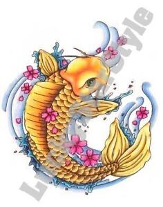 sailor jerry koi fish  Details About Sailor Je...