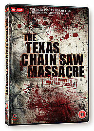 THE TEXAS CHAIN SAW MASSACRE-(DVD)-NEW&SEALED-RESTORED, UNCUT & REMASTERED