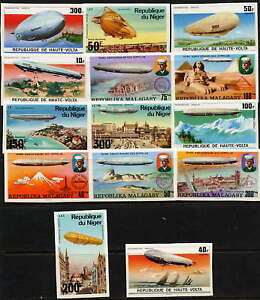 FINE-COLLECTION-OF-VERY-RARE-MINT-ZEPPELIN-IMPERFS