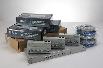 Furman HDS-6/HR-6 Headphone Dist. & Mixing System on Rummage
