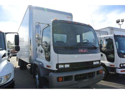 2007 gmc t6500 isuzu fvr 26ft high cube delivery truck. Black Bedroom Furniture Sets. Home Design Ideas