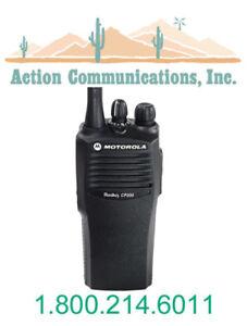 MOTOROLA-RADIUS-CP200-TWO-WAY-RADIO-VHF-4CH-CP-200