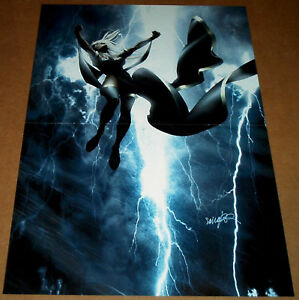 STORM-UNCANNY-X-MEN-487-MARVEL-COMIC-BOOK-POSTER-XMEN-LIGHTNING-MUTANT-MASSACRE
