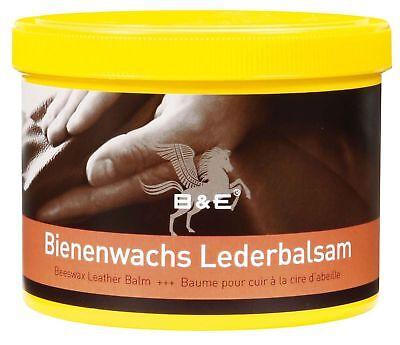 B & E Bienenwachs-Lederpflege-Balsam  500 ml - Wachspflege Leder Pflege