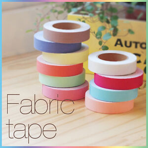 E2-Adhesive-Deco-FABRIC-ROLL-TAPE-Multi-Use-Solid-Color