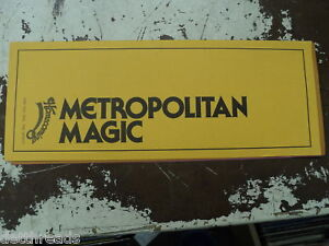 METROPOLITAN-MAGIC-Shirley-Love-George-Shirley-7-1976