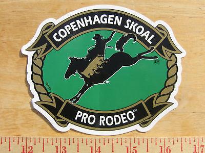 Copenhagen/skoal Pro-rodeo Decal