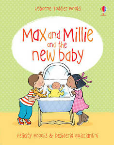 New Baby (Max and Millie)-ExLibrary