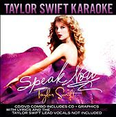 Taylor-Swift-SEALED-CD-DVD-Speak-Now-KARAOKE-OOP