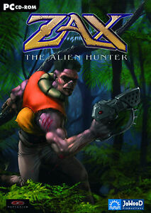 ZAX - THE ALIEN HUNTER - USK 12 - PC - NEU & OVP
