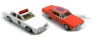 NEW-ERTL-1-64-Dukes-of-Hazzard-GENERAL-LEE-COP-CAR