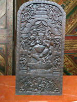 Ganesha Carved Door Ganesh Wall Panel