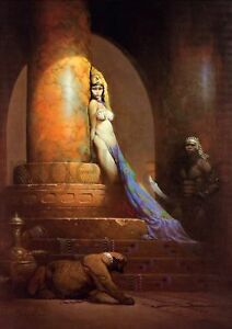 FRANK-FRAZETTA-EGYPTIAN-QUEEN-A3-printed-poster