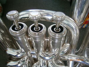 BESSON SOVEREIGN  EUPHONIUM / TUBA  BLACK TOP CAP FELTS SET OF 4