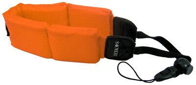 Orange Floating Strap For Sony Cybershot Dsc-tx5 Dsc-tx10